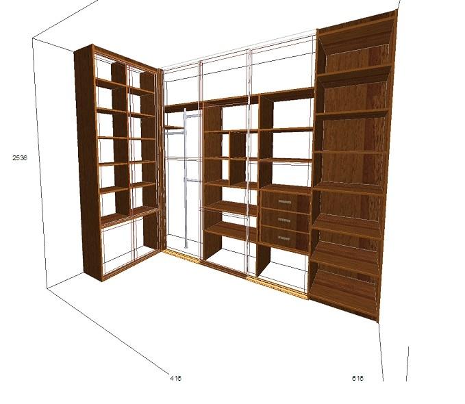 Гардеробная комната своими руками: чертежи и схемы, дизайн + фото